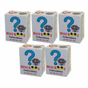 Ty Beanie Boos - Mini Boos Paw Patrol Figures - Blind Boxes 5 Pack Lot2 Inch