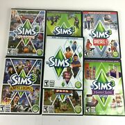 The Sims 3 Base Game And 6 Expansion Packs Pc 2009-2012 - 7 Total Discs
