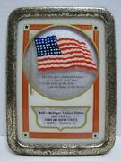 Old Welkand039s Mobilgas Service Station Ad Sign Nazareth Pa Star Spangled Banner Usa