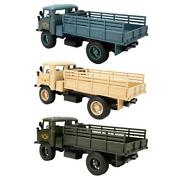 Alloy Military Truck Vehicle Lights Sounds Child Kids Play Toy