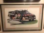 Dale Earnhardt Sr. Lithograph What A Difference A Year Makes