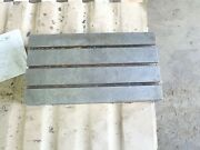 26 X 14 X 4.5 Tall Steel T-slotted Table Layout Welding Weld 3 T-slot