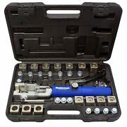 Mastercool 72475 Universal Hydraulic Flaring Tool Set With Tube Cutter