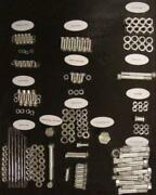 Complete Stock Engine Motor Hardware Kit For Harley Late Panhead Cadmium