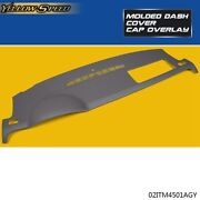 For 2007-2014 Chevy Tahoe Suburban Yukon Avalanche Molded Dash Cover Cap Gray
