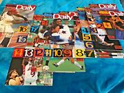1996 Sports Illustrated Olympic Daily Total 18 Magazines - New Mint