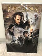 The Lord Of The Rings A 12 Month 2005 Movie Poster Calendar Factory Sealed Lotr