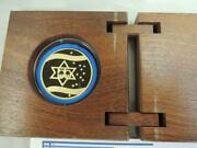 2003 Israel 55th Anniversary- Yes To Israel State Medal 34mm 26g Pure Gold