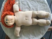 Vintage 1978 16 Inch Cabbage Patch Kid Signed Number 1 Head