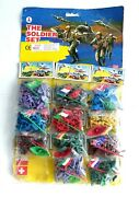 Vintage 1970's / 80's Toy Soldiers The Soldier Set Old Shop Stock On Display