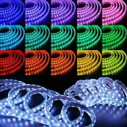 150ft Color Changing Led Strip Flexible 5050 Smd Remote Flash Strobe Fade Modes