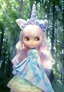 Genuine Neo Blythe Unicorn Maiden Doll Girls Toy Collectible Unused F/s From Jpn