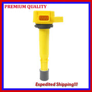 1pc High Performance Ignition Coil Jhd286y For Honda Civic 1.7l L4 Cng 2001 2002