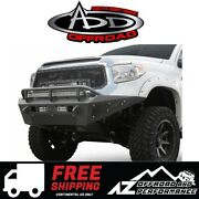 Add Honeybadger Front Bumper For 2014-2019 Toyota Tundra