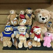 Disney Duffy Plush Toy Toy Badge Lunch Box 9 Piece Set Collectible Rare Rare F/s