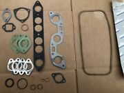 Renault R8 Misc. Engine Manifold Gaskets - Nos Pieces.