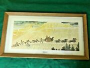 Winchesterandrsquos 1966 Norman Rockwell Stagecoach Commemorative Poster Framed
