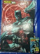 Jim Lee Motor City Comic Con Signed Poster And Vip Badge