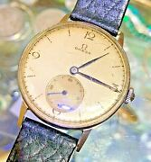 1920-40 Omega 30t2very Old Vintage Watch Manual Movement Collectible