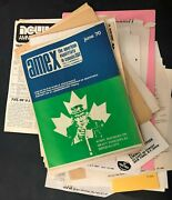 Vtg Americans Exiled In Canada Amnesty Amex Vietnam War Resisters Newspapers Lot