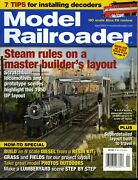 Model Railroader Magazine April 2007 Steam Rules On A Master Builder's Layout