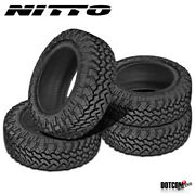 4 X New Nitto Trail Grappler M/t 37/13.5r22 123q Off-road Traction Tire