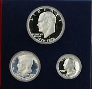 United States Mintand039s Bicentennial Celebration Silver Proof Coin Set Collectable