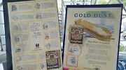 Vintage 1920and039s Fairbanks Gold Dust Washing Powder Advertisements - Large Ads