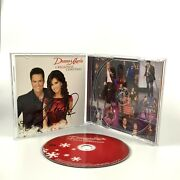 Donny And Marie Osmond A Broadway Cristmas Signed Autograph Signatures Cd Rare