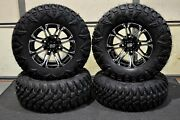 Can Am Outlander 650 27 Street Legal Atv Tire And 14 Hd3 M Wheel Kit Can1ca