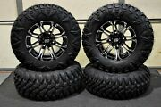 Can Am Renegade 500 27 Street Legal Atv Tire And 14 Hd3 M Wheel Kit Can1ca