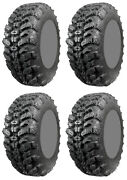 Four 4 Interco Sniper 920 Atv Tires Set 2 Front 28x10-15 And 2 Rear 28x10-15