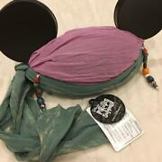 Tokyo Disney Sea Mickey Pirate Style Ear Hat Unused With Tag Get Wet Original Fs