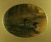 Morning Reflections Moments Of Serenity Plate 1 Bruce Langton Loons Bradford Ex