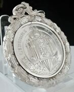 Rare Sterling Silver The Linton Medal School Medal From Brechin 1904/05