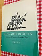 Edward Boreindrawings And Paintings Of The Old West Vol1and2signed..cowboy Artist