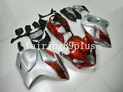 Silver Candy Red Abs Injection Fairing Kit Fit For 2008-2016 Gsxr1300 Busa Gen 2