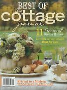 Best Of The Cottage Journal 2019 Seasonal Dream Homes/tennessee Farmhouse