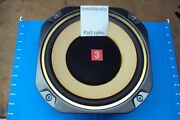 Fisher Stv-853 Original Woofer W/ Mounting Screws. Tested With 60 Watt Receiver