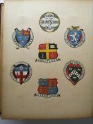 Stunning Victorian Scrapbook With Scraps Crests Wax Stamps From 1879