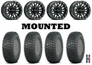 Kit 4 Itp Terra Hook 28x9-14/28x11-14 On Podium Beadlock Matte Black H700
