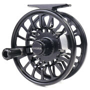 Galvan Torque Reel Black - All Sizes - Free Line And Backing - Free Shipping