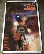 Original 1984 Caravan Of Courage Intl. Movie Poster Style A Rolled 27x41
