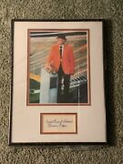 Football Coach Frank Howard Clemson Tigers Signed Autographed Framed Display