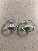 Lot Of 2 Ford Hubley 6000 Commander Tractor Steering Wheels 1/12