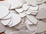 Pick Your Quantity Blank White Guitar Picks Thick 1.0 Mm Free Ship 10 To 10,000