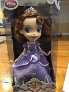 Disney Sofia The First Singing Doll - 12and039and039 Nib