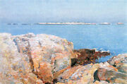Duck Island By Hassam Artist Painting Reproduction Handmade Oil Canvas Repro