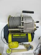 Dbi /sala L1850-60 Confined Space Winch 60and039 Cable 350 Lbs. Rated Load Used