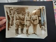 Ww1 Photograph Portugese Officers Presented To The King Clear Faces Who